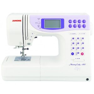 Janome Memory Craft 4900 Quilter's Companion